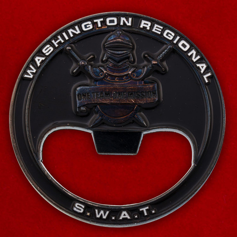 """Челлендж коин-открывалка """"Спецназ полиции Юго-Западноого округа Вашингтона"""""""