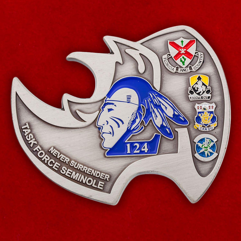 """Челлендж коин-открывашка """"124-я Оперативная тактическая група Сименолы"""""""