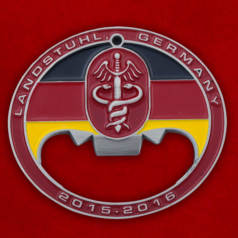 """Челлендж коин-открывашка """"Отделение 4224-го Армейского госпиталя США в Германии"""""""