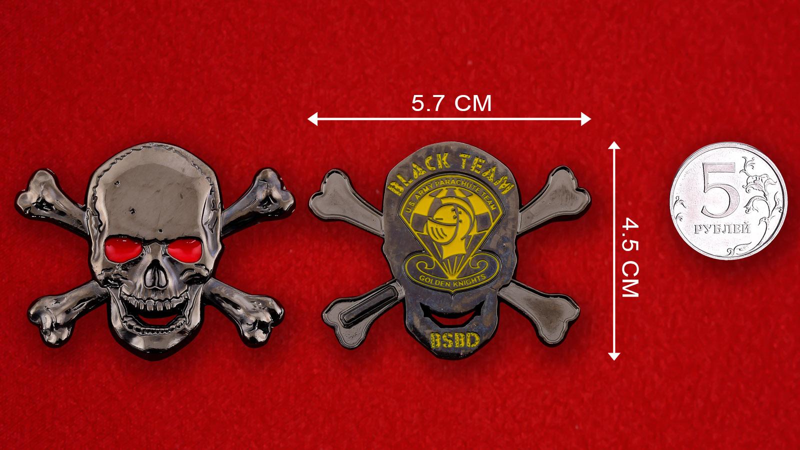 """Челлендж коин Парашютной группы армии США """"Golden Knights"""""""
