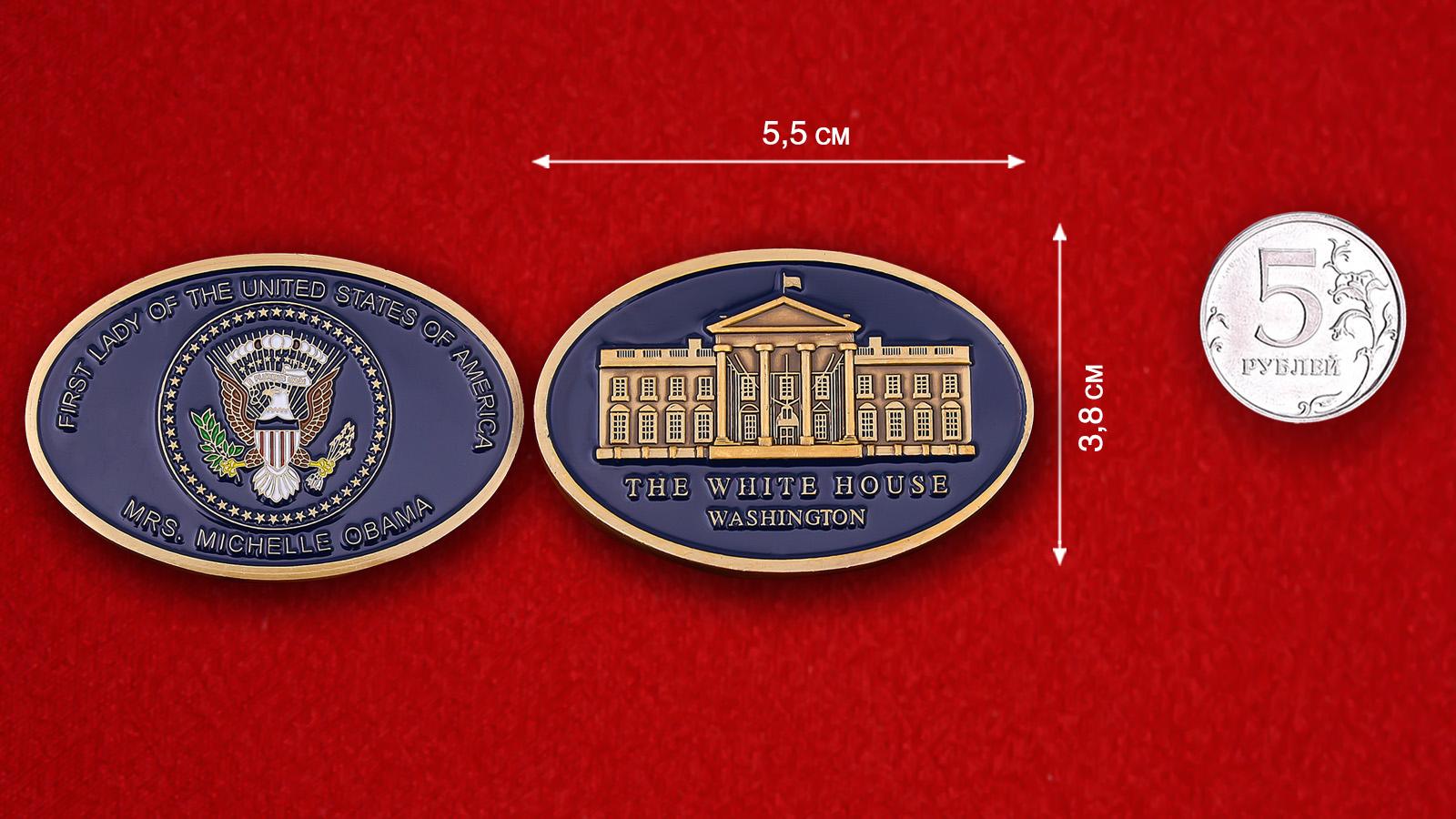 Челлендж коин Первой леди США Мишель Обама