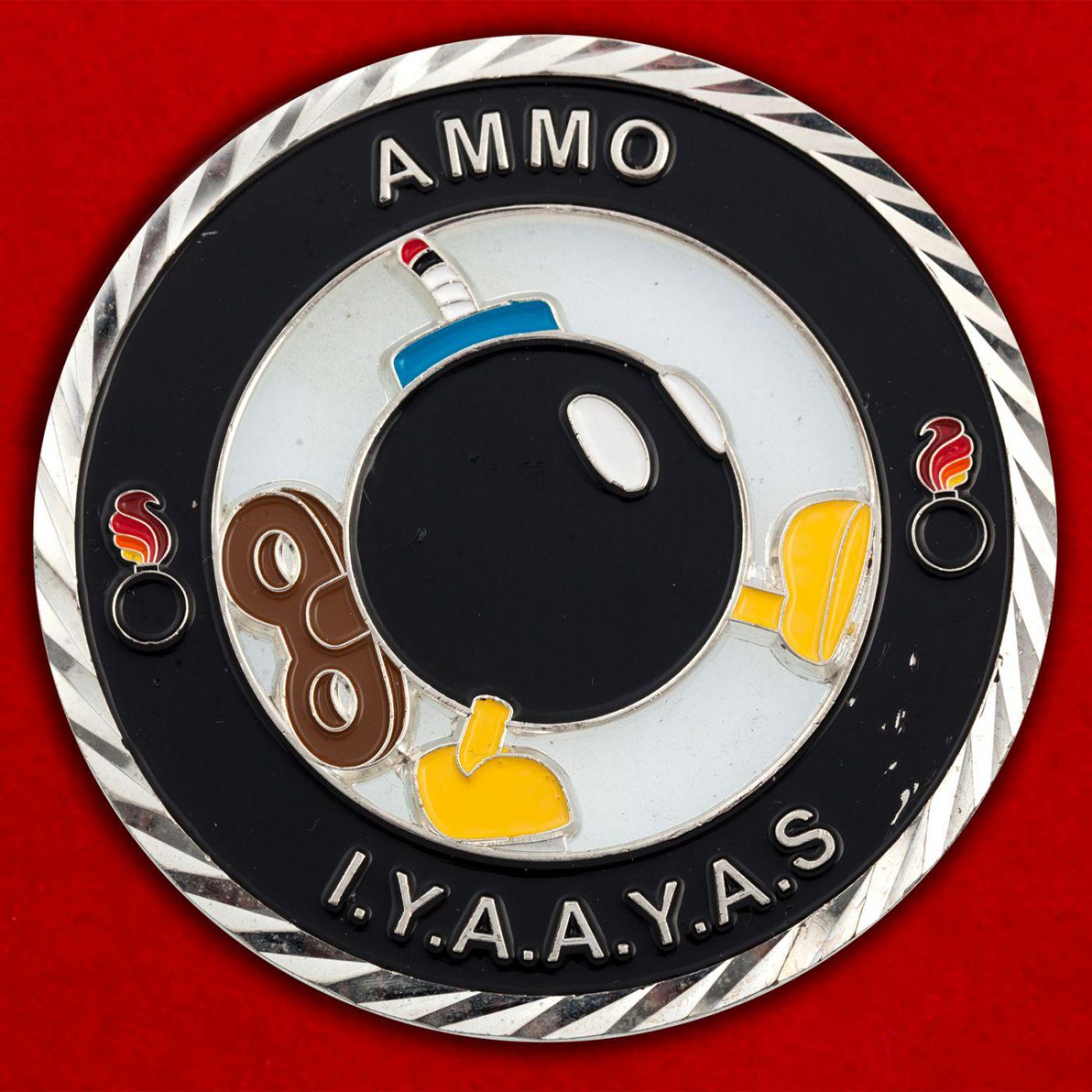 Челлендж коин подразделений Службы авиационного вооружения ВВС США