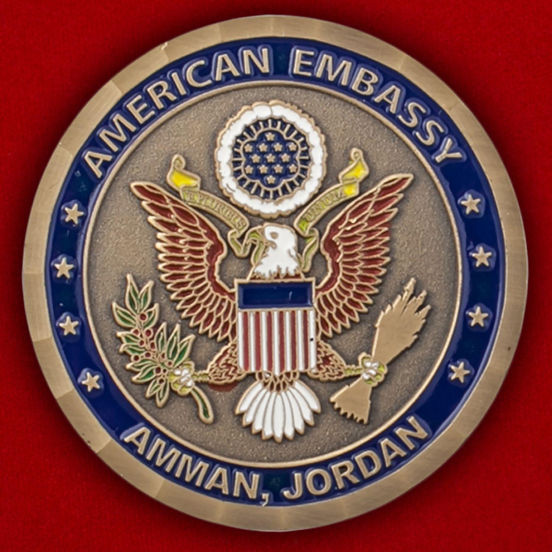 Челлендж коин посольства США в Иордании