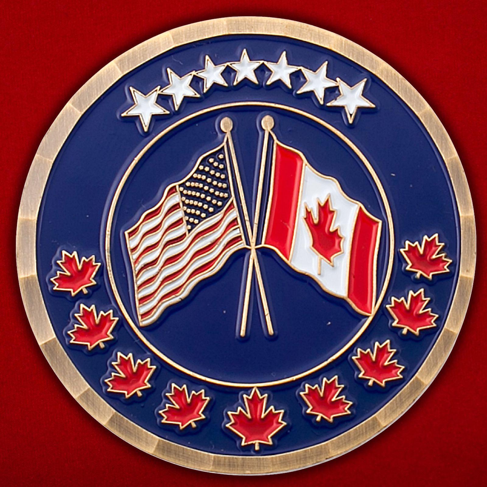 Челлендж коин Посольства США в Канаде