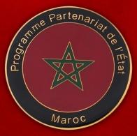 Челлендж коин Программы государственного партнерства Нацгвардии США и Марокко