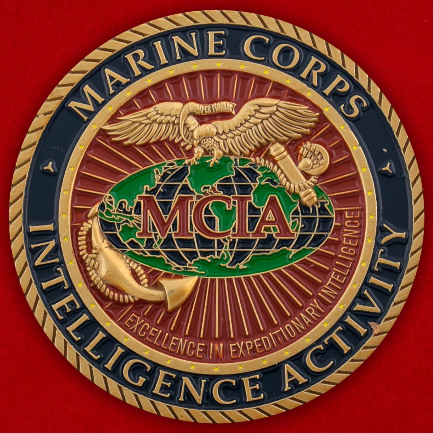 Челлендж коин разведки Корпуса Морской пехоты США