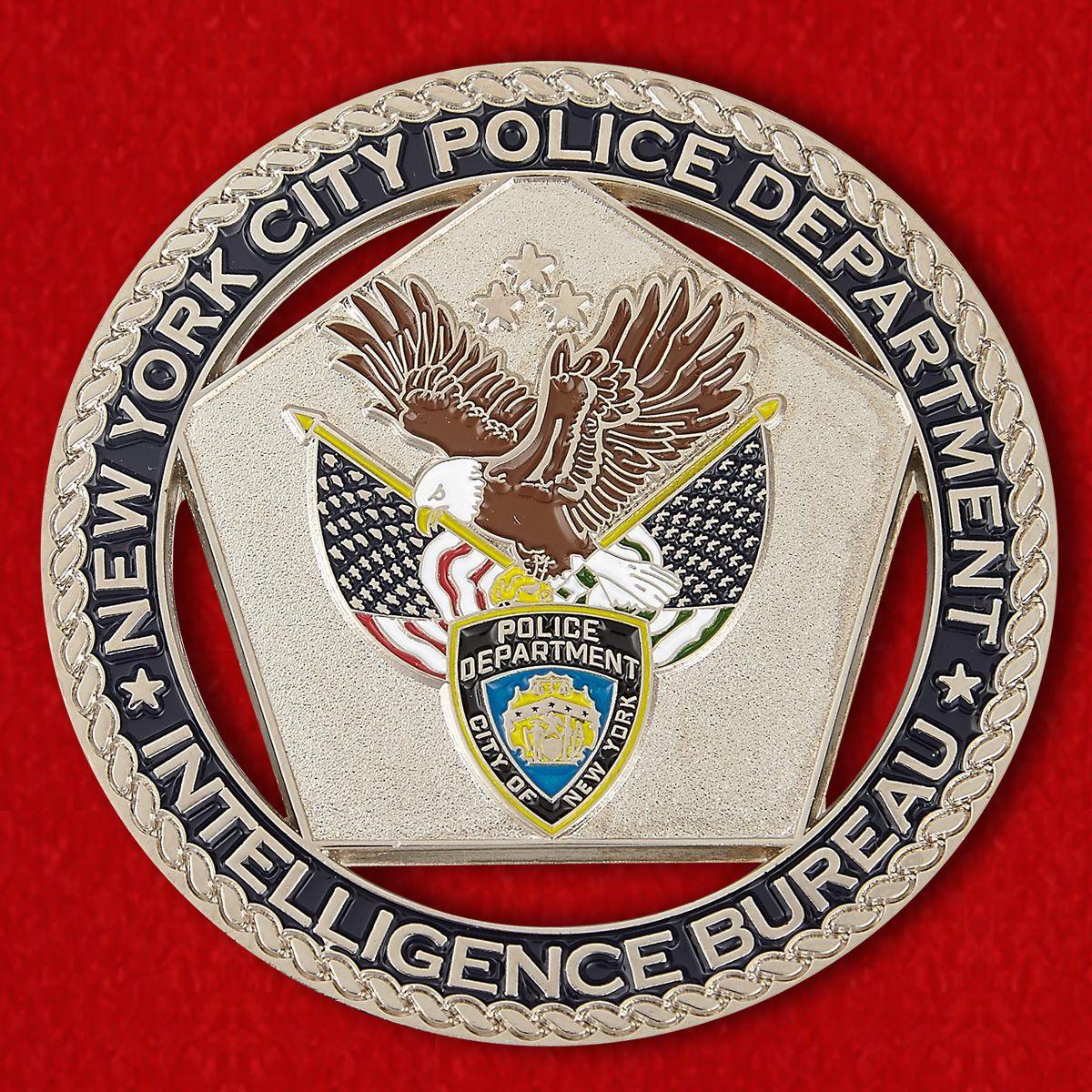 Челлендж коин Разведывательного бюро полиции Нью-Йорка