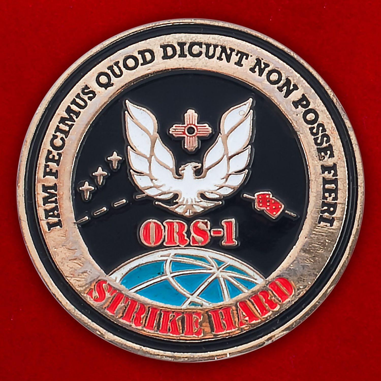 """Челлендж коин """"Разведывательный спутник ORS-1"""""""