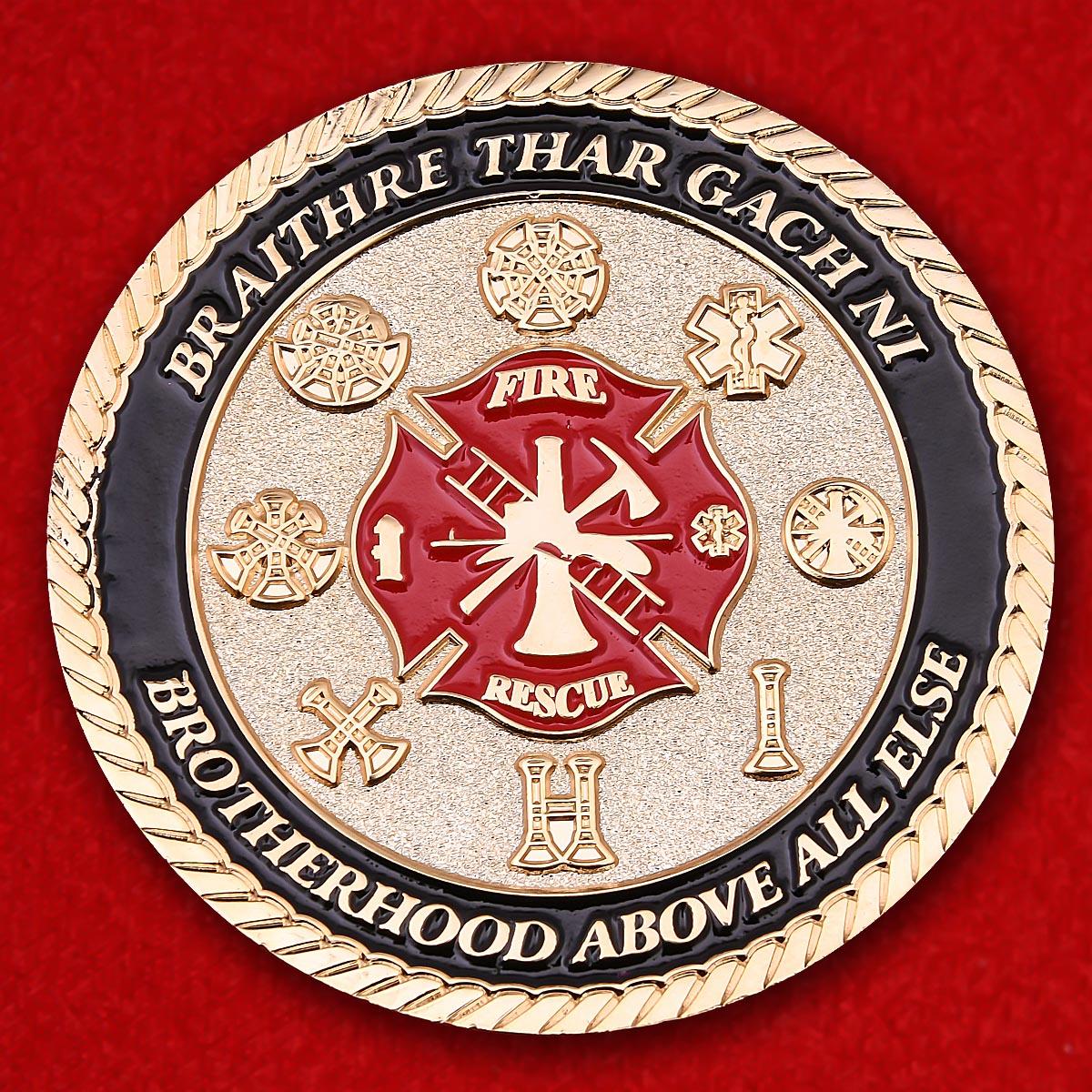 """Челлендж коин """"Региональная пожарная академия Сан-Антонио"""""""