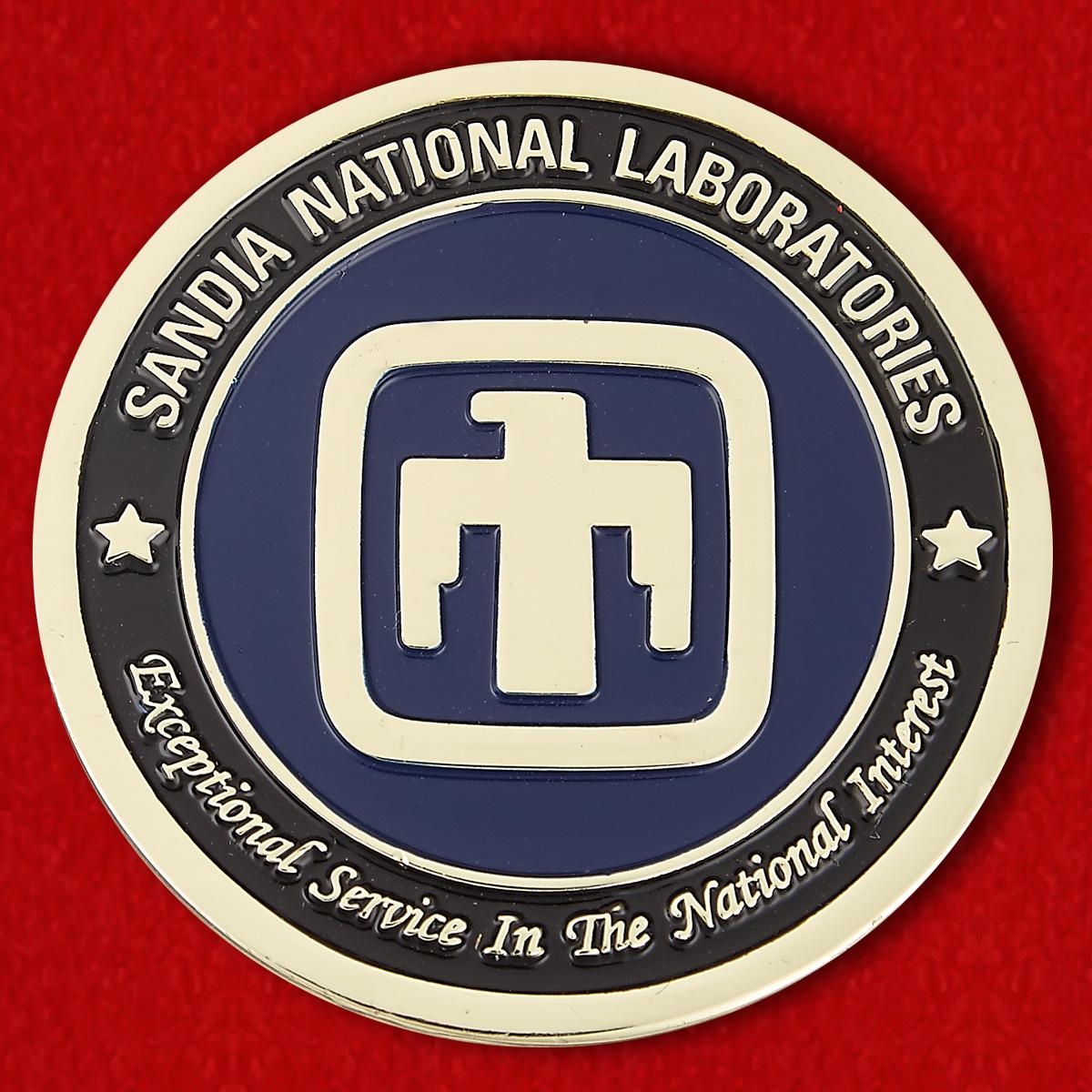 """Челлендж коин """"Сандийские национальные лаборатории"""""""