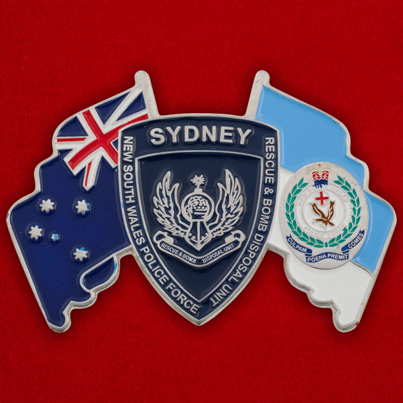 Челлендж коин саперов полиции штата Новый Южный Уэльс, Австралия