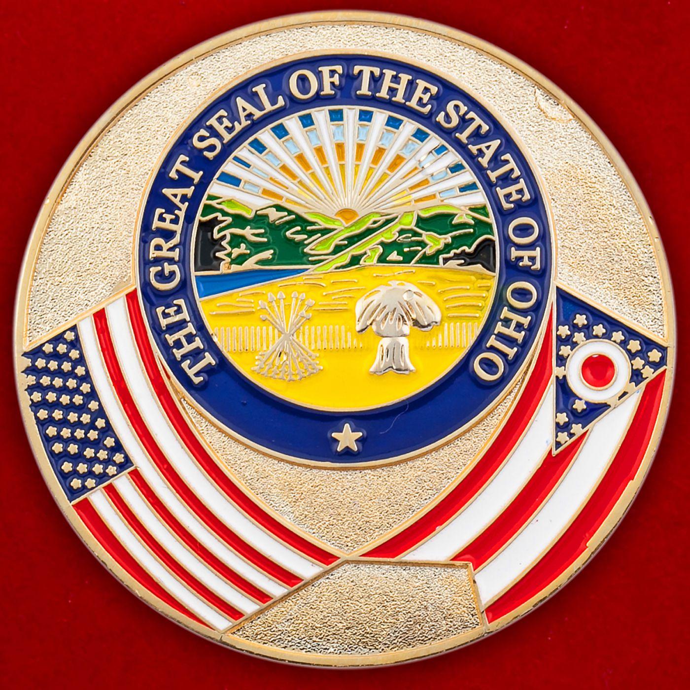Челлендж коин сенатора штата Огайо Джима Хигеса