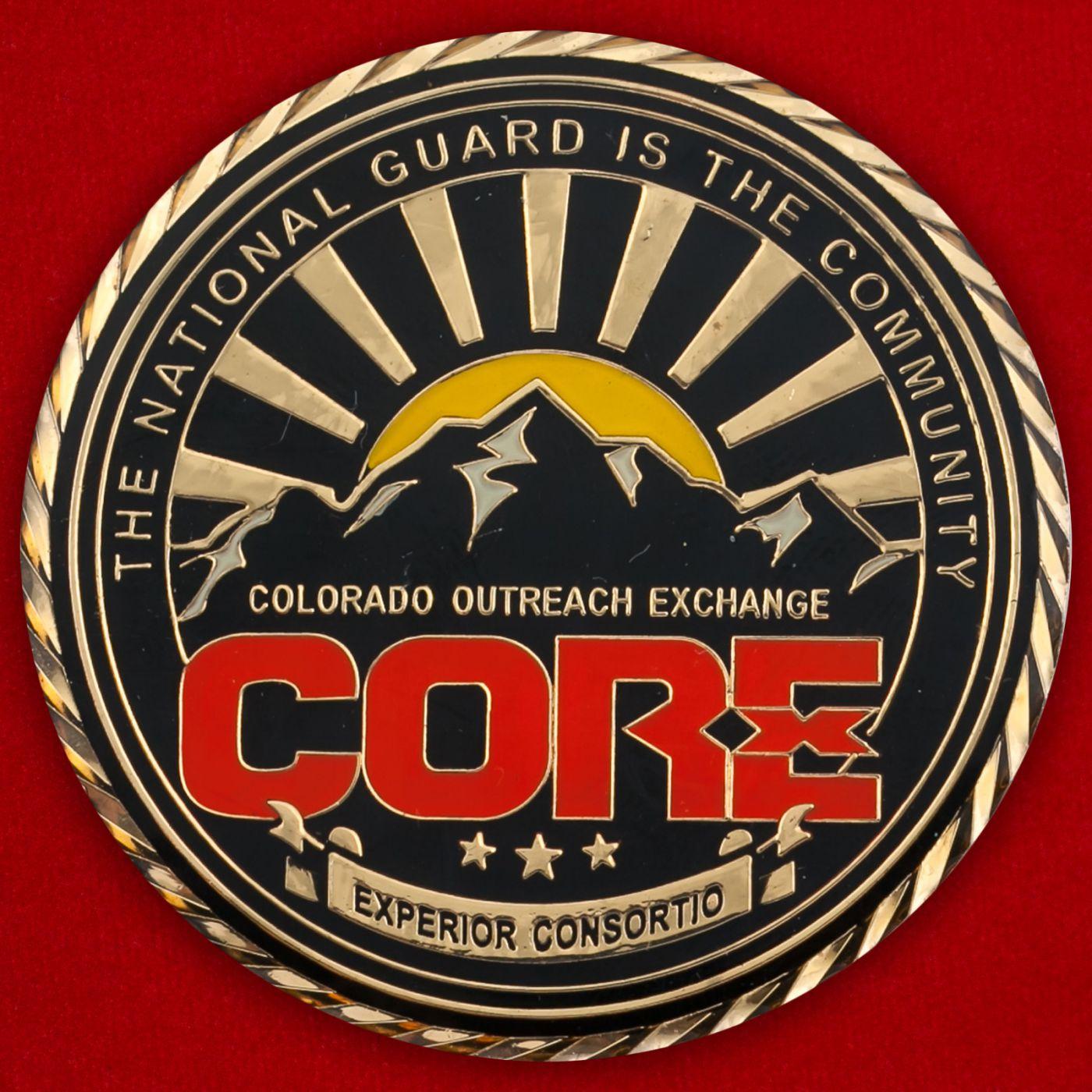 Челлендж коин Сообщества Национальной гвардии штата Колорадо