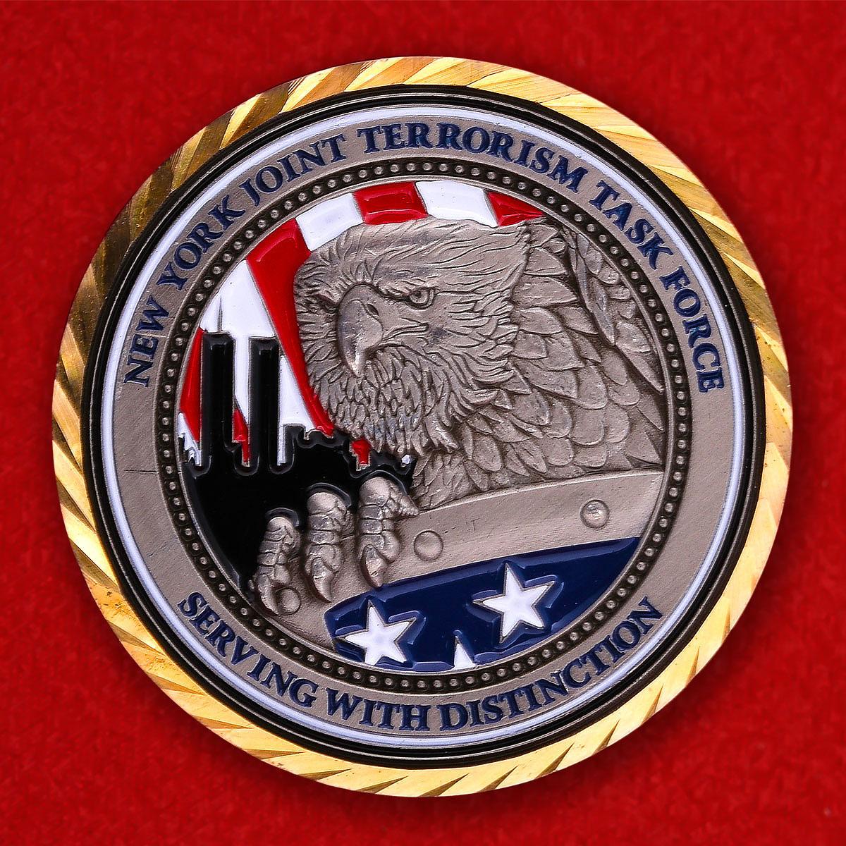 """Челлендж коин """"Совместная Оперативная Антитеррористическая группа правоохранительных органов США"""""""