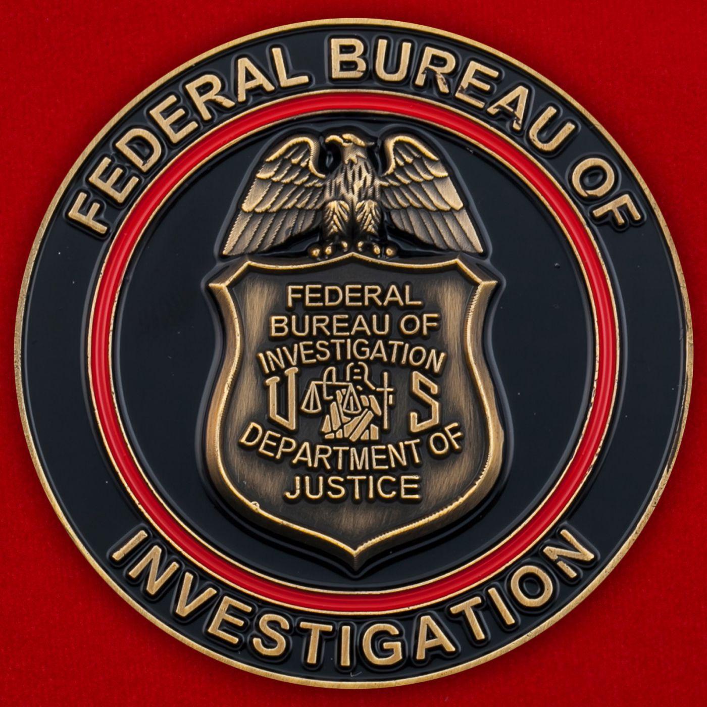 Челлендж коин спецагента по обезвреживаню взрывоопасных веществ отделения ФБР в Майами