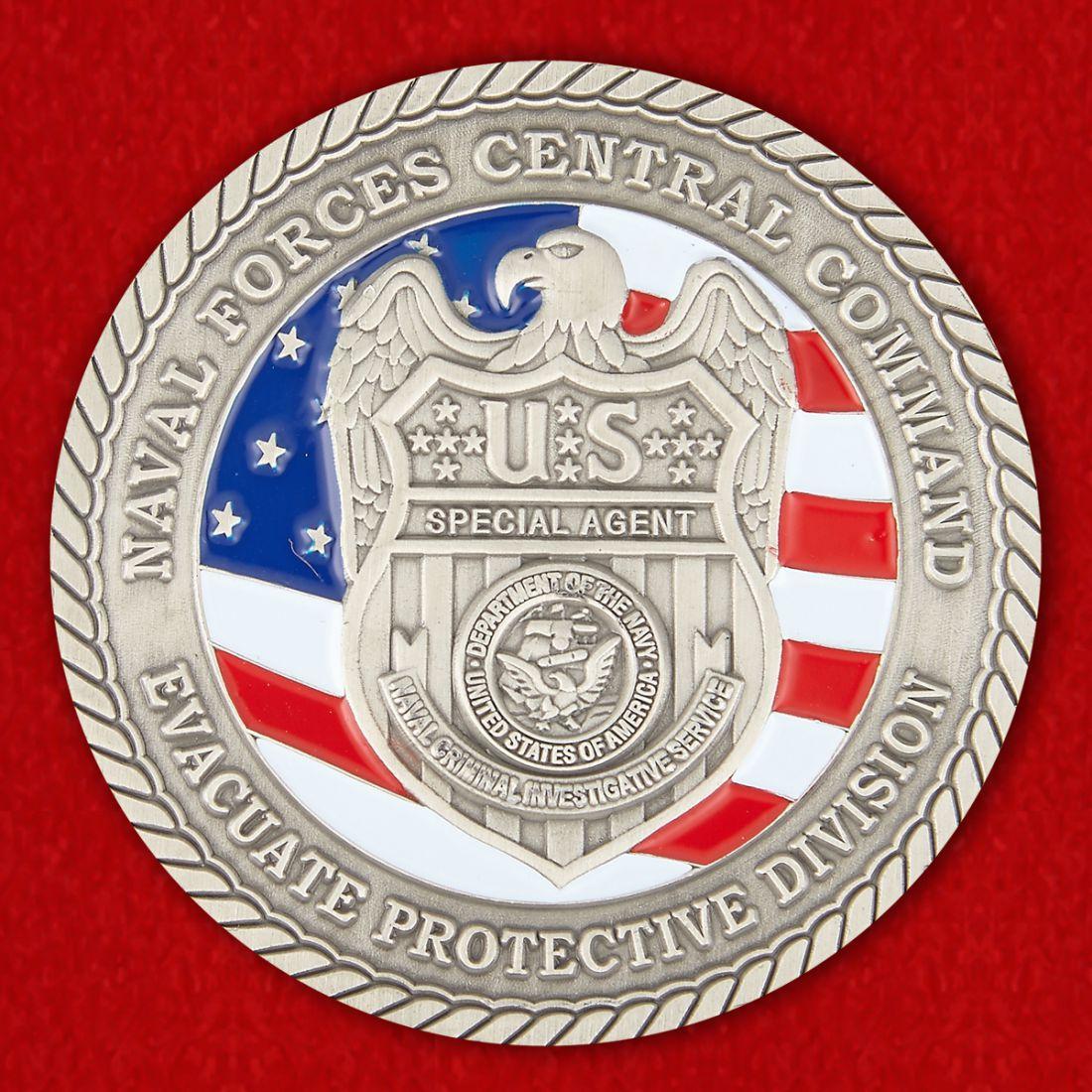 Челлендж коин Специального Агента Министерства ВМС США