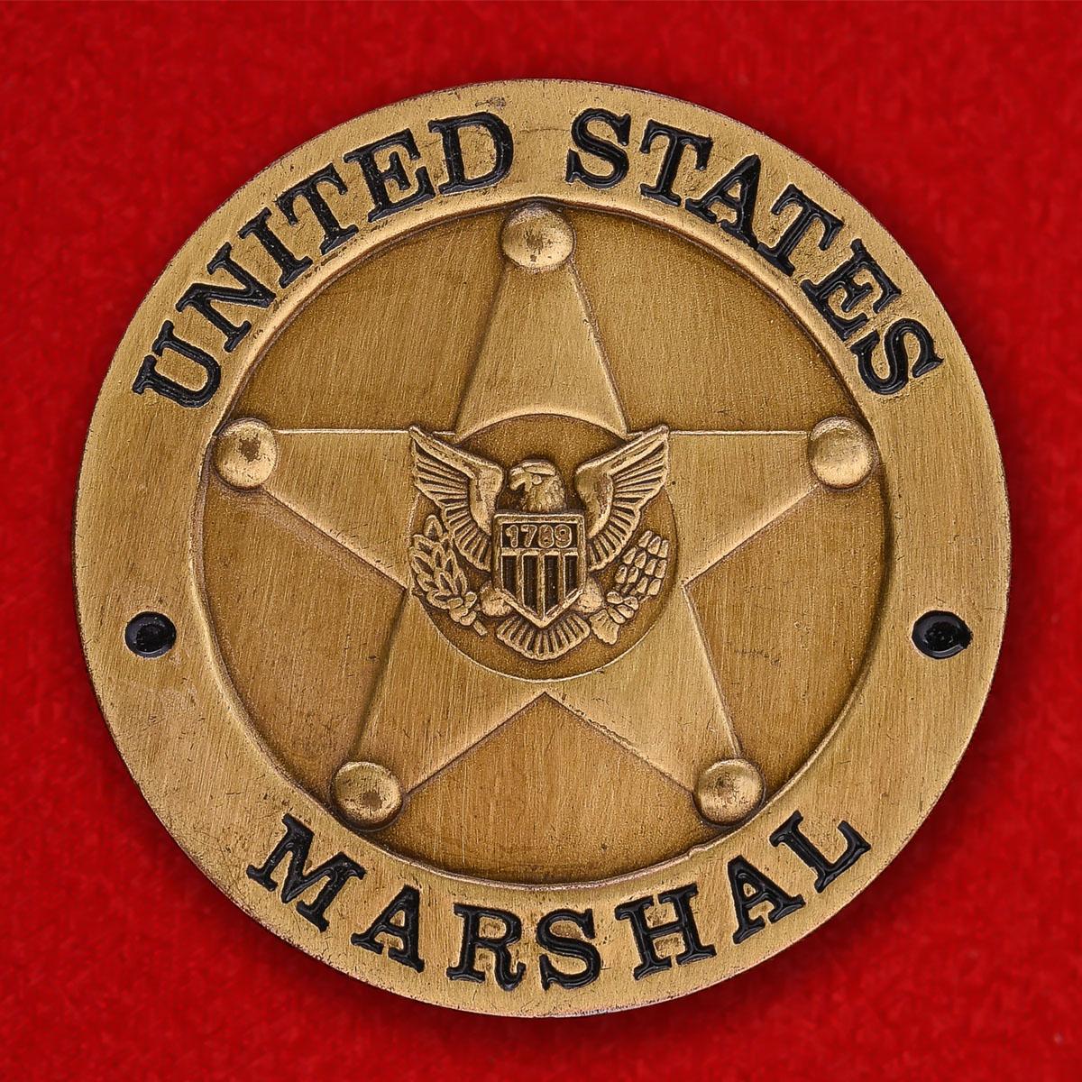 Челлендж коин Специальной Оперативной группы Службы маршалов США в Афганистане