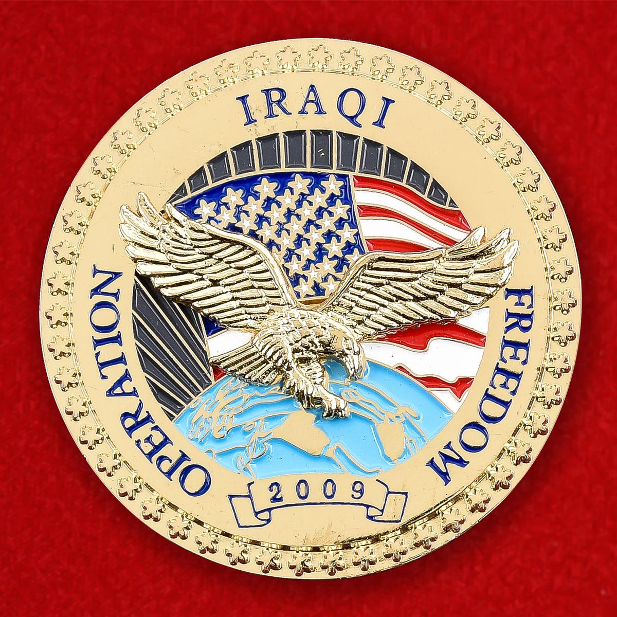 "Челлендж коин США ""Операция Освобождение Ирака"""