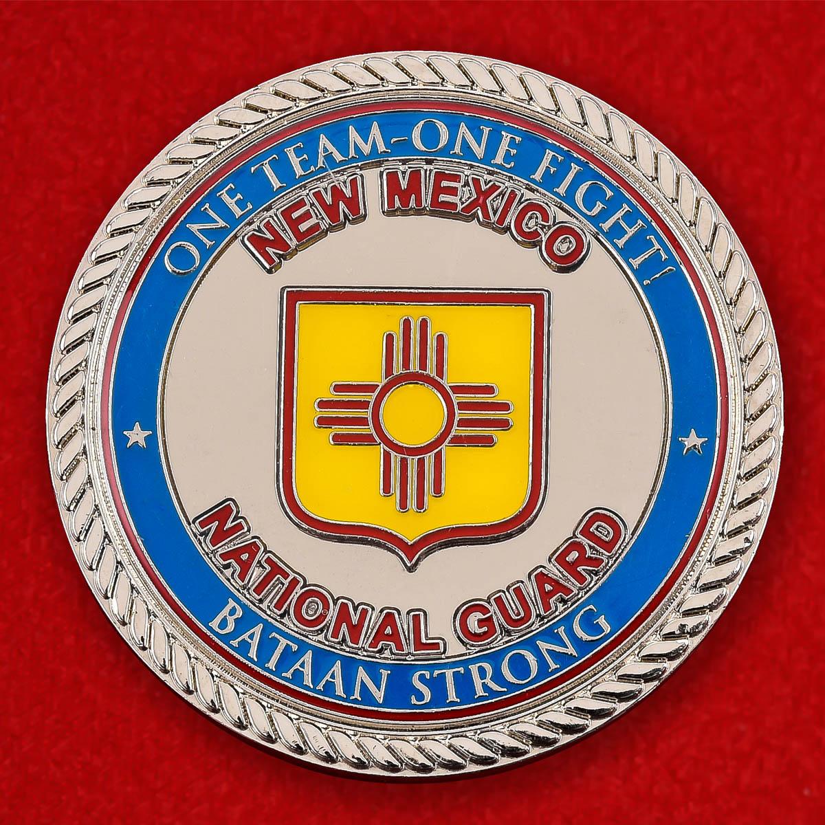 """Челлендж коин США """"От командира Национальной гвардии Нью-Мексико"""""""