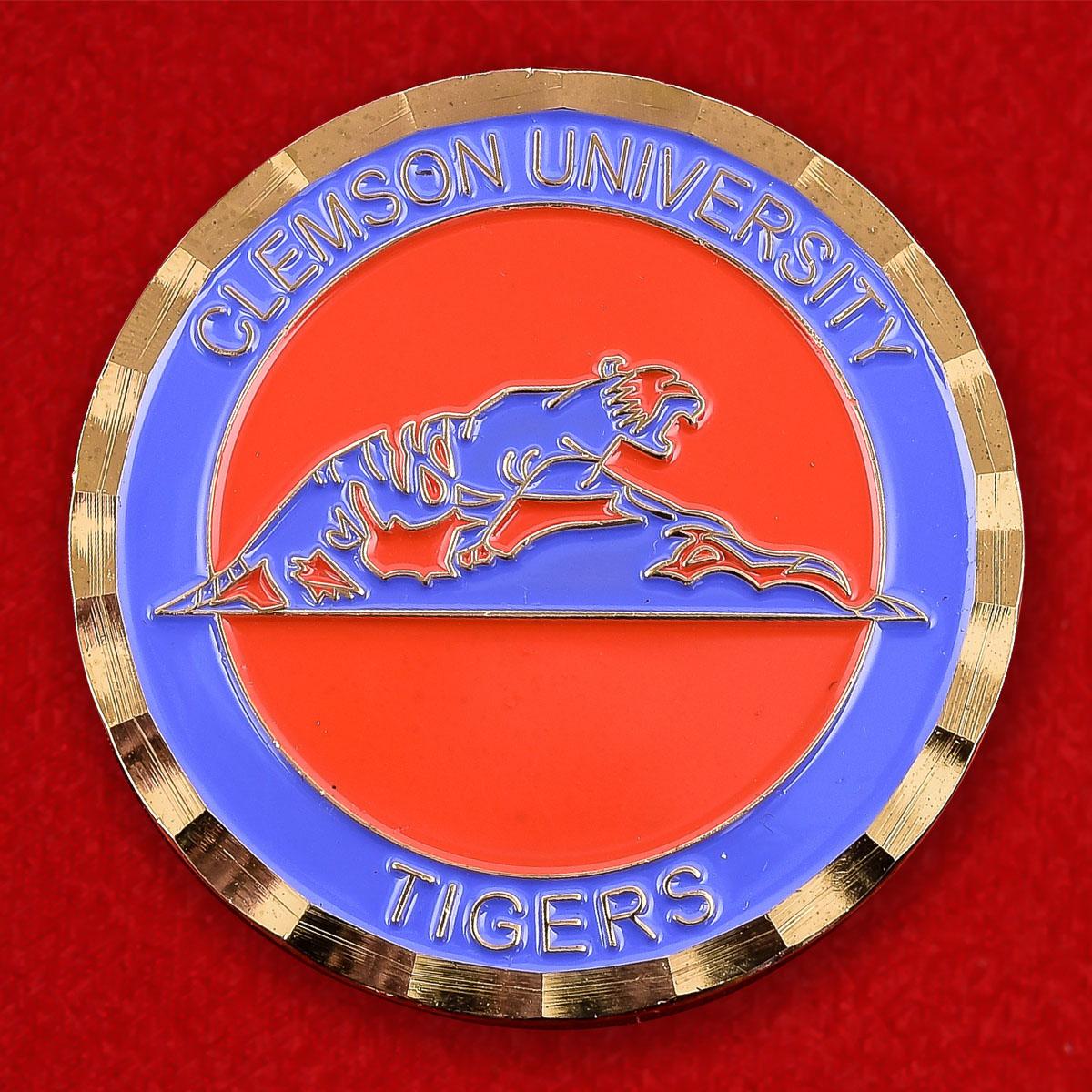 Челлендж коин клуба Clemson University Tigers