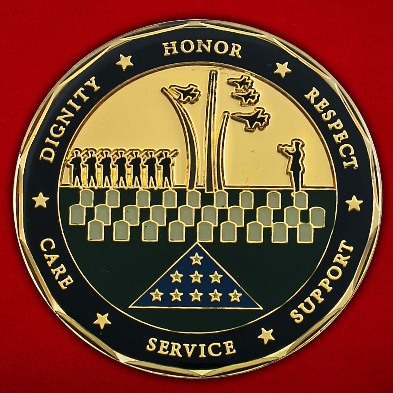 Челлендж коин Центра ритуальных услуг ВВС США
