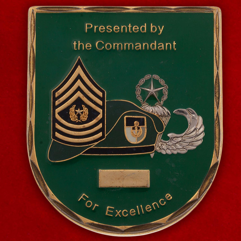Челлендж коин Учебного центра имени Джона Кеннеди Командования Специальных операций