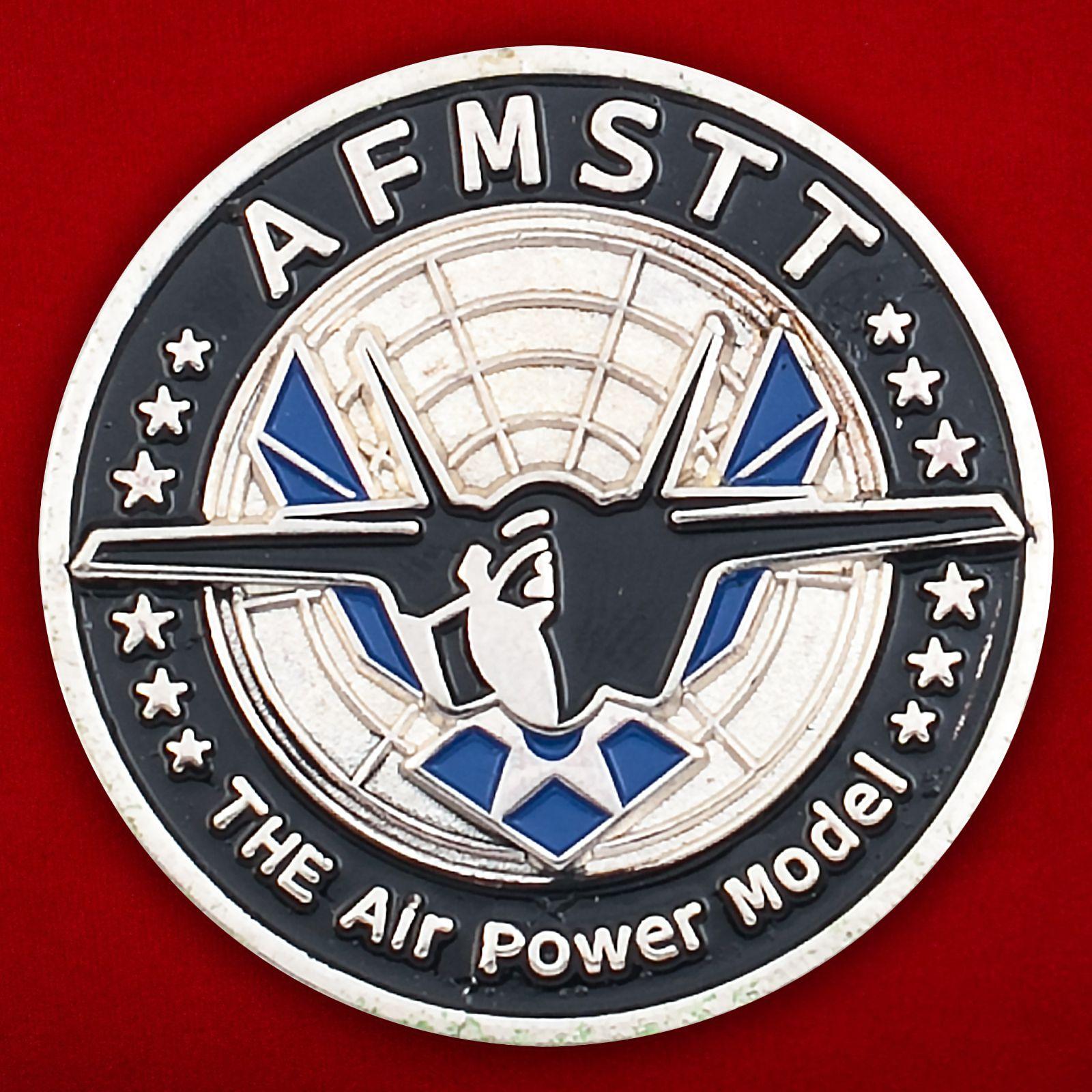 """Челлендж коин """" Учебный комплекс ВВС США AFMSTT"""""""