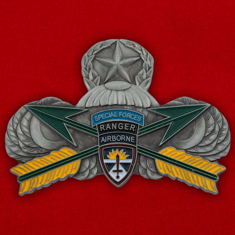 Челлендж коин Управления испытаний парашютов и бортового десантного оборудования