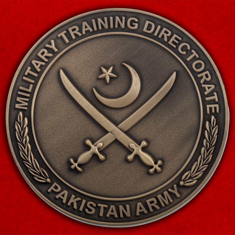 Челлендж коин Управления военной подготовки Армии Пакистана