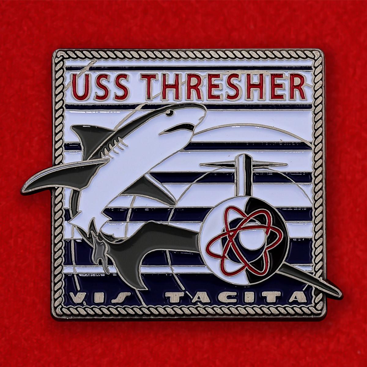 """Челлендж коин ВМС США """"Атомная подводная лодка Thresher"""""""