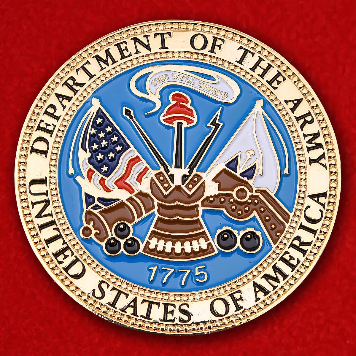 """Челлендж коин Военно-морских сил США """"За операцию Несокрушимая свобода"""""""
