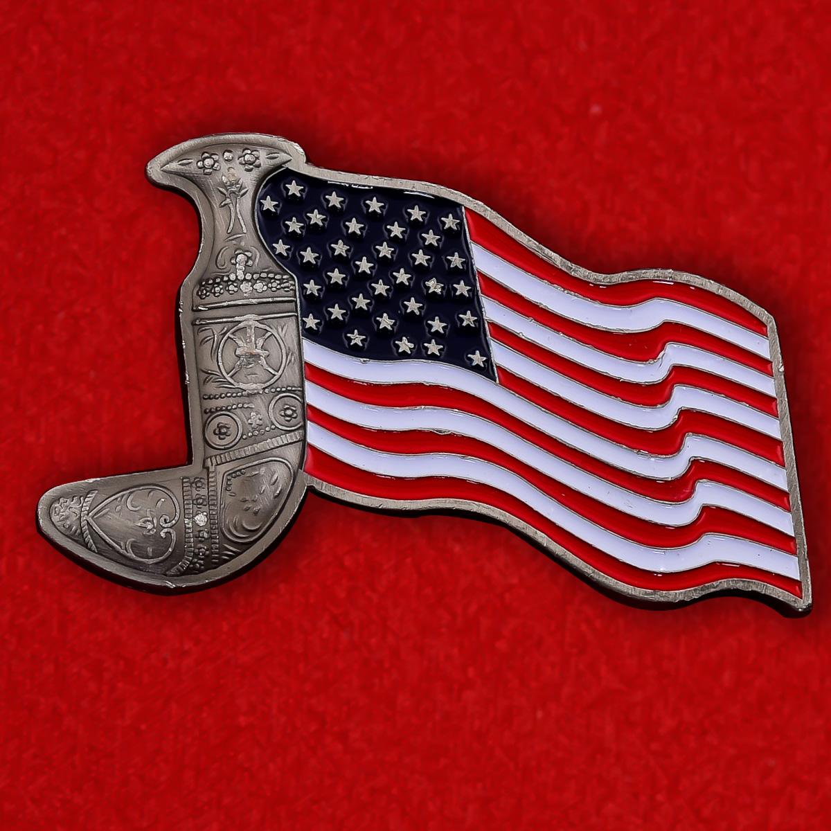 Челлендж коин Военно-технического представительства США в Маскате, Оман