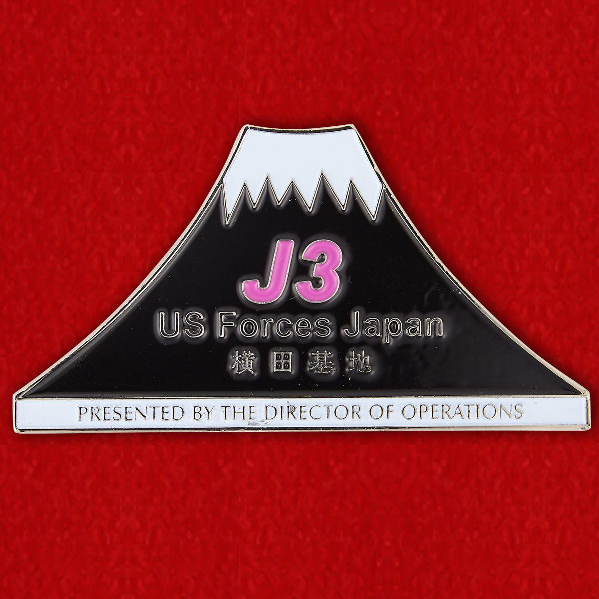 Челлендж коин ВС США в Японии