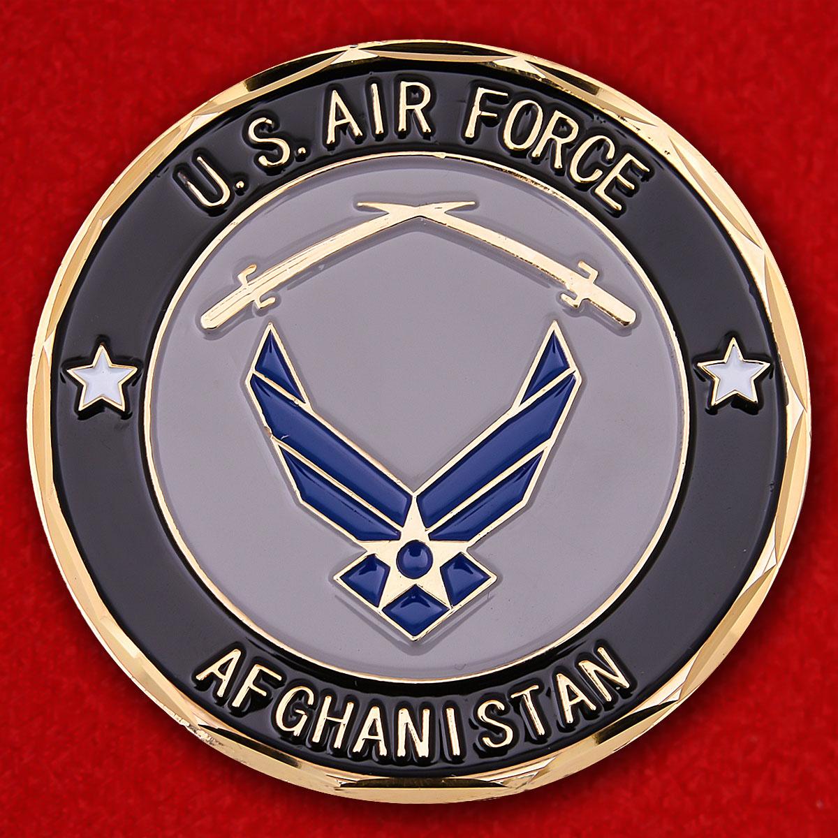 """Челлендж коин ВВС США """"Афганистан. Операция Несокрушимая свобода"""""""
