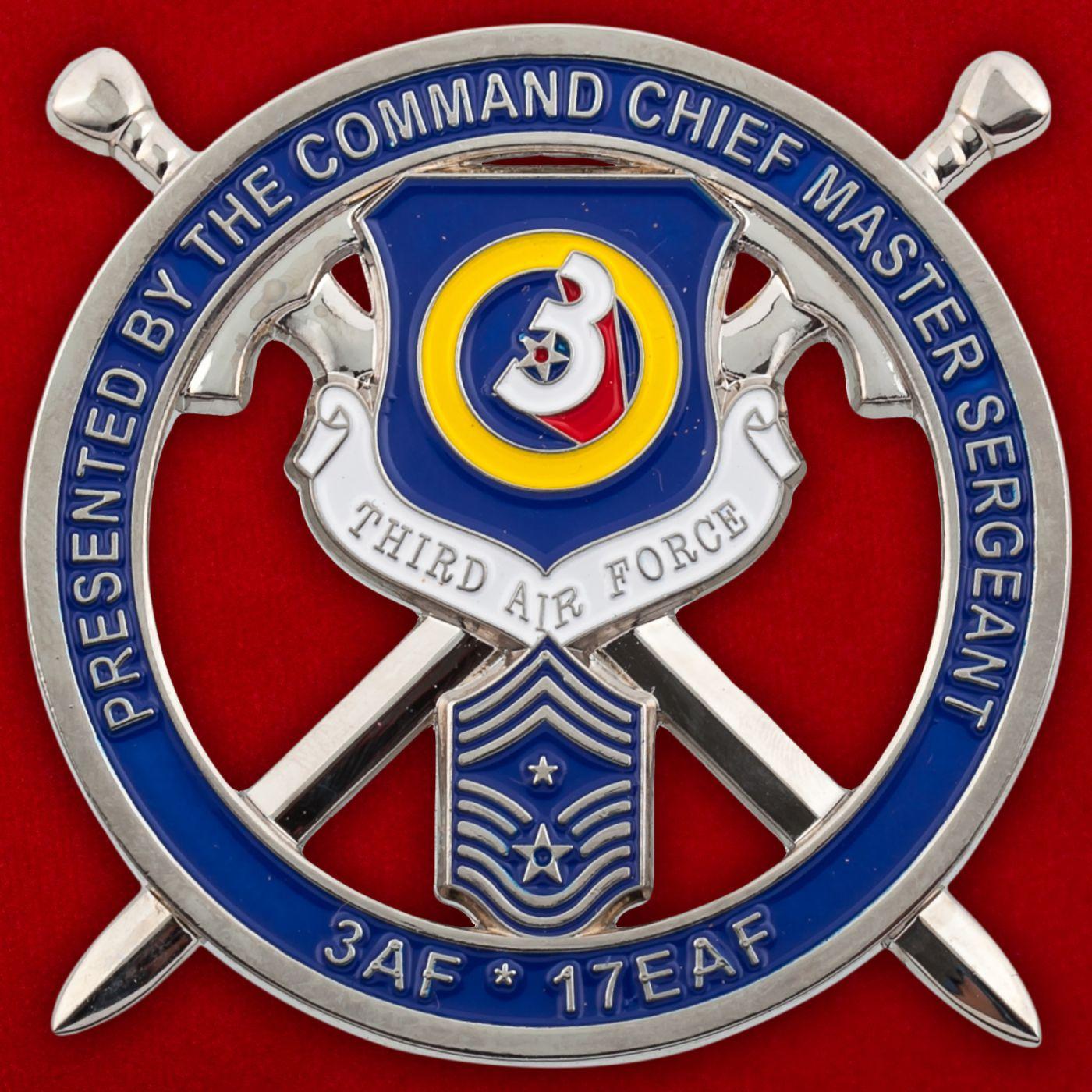 Челлендж коин ВВС США в Европе
