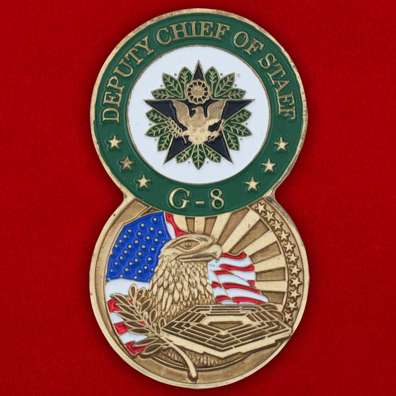 Челлендж коин Заместителя начальника штаба ВС США по финансовым вопросам
