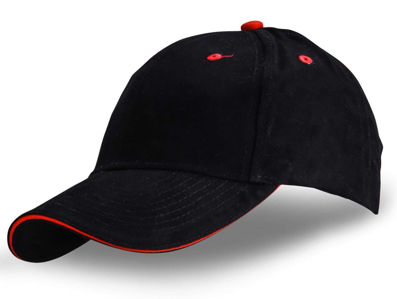 Черная кепка - купить в интернет-магазине с доставкой