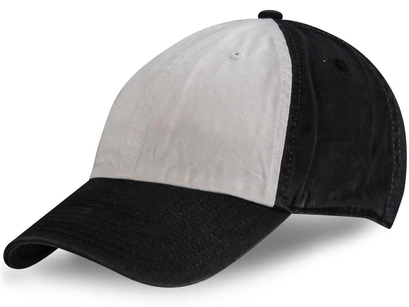 Черно-белая кепка - купить в интернет-магазине с доставкой