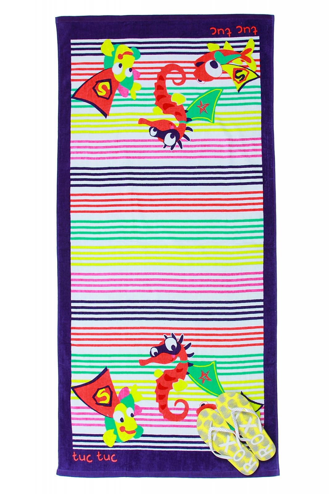Детское пляжное полотенце Tuc Tuc с доставкой по всей стране