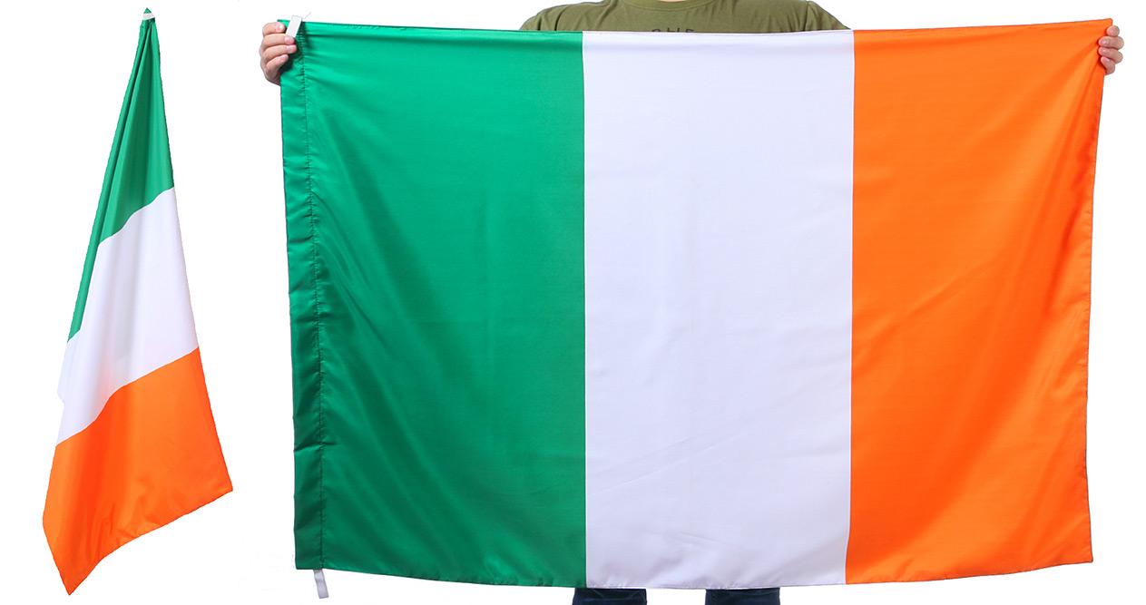 Двухсторонний флаг Ирландии