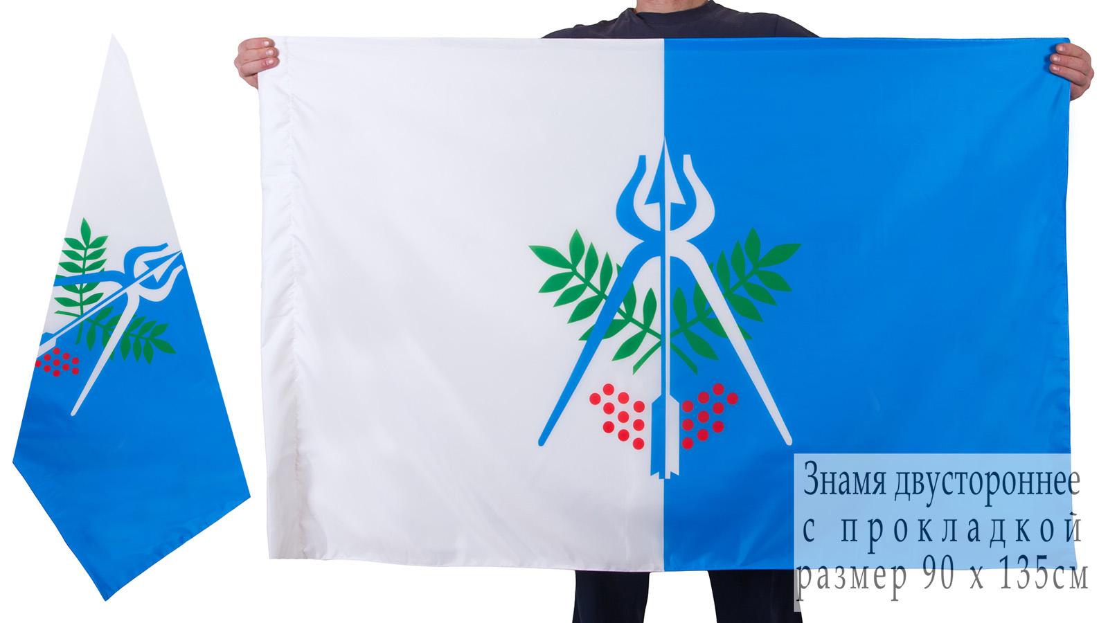 Двухсторонний флаг Ижевска