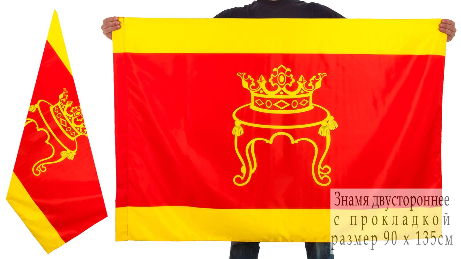 Двухсторонний флаг Твери