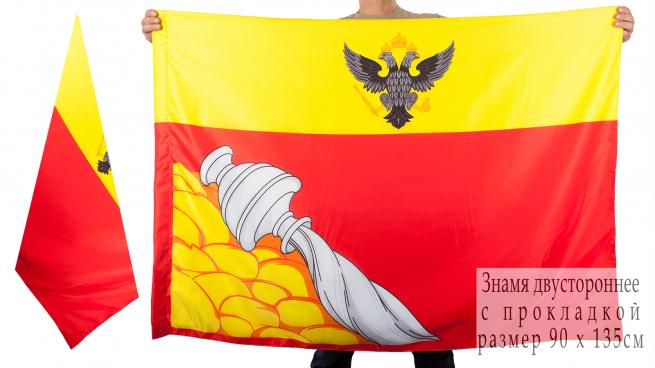 Двухсторонний флаг Воронежа