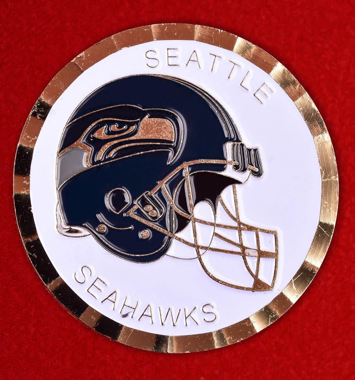 "Эмблема NFL Seattle Seahawks ""Enduring Freedom"""