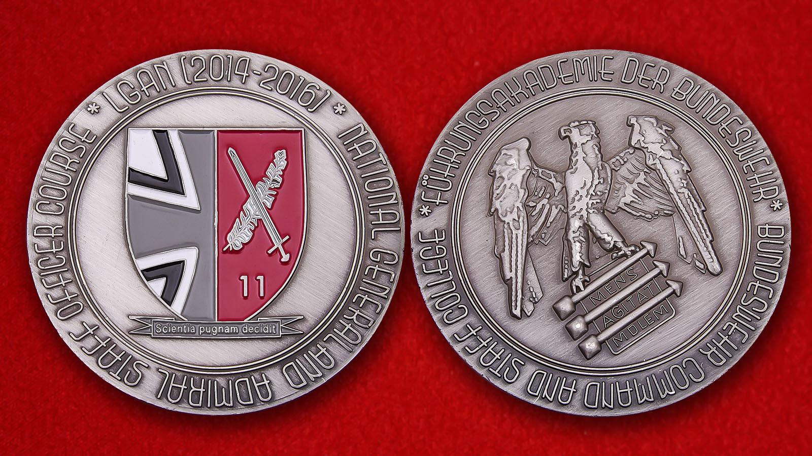 Führungsakademie Der Bundeswehr Command And Staff College Challenge Coin