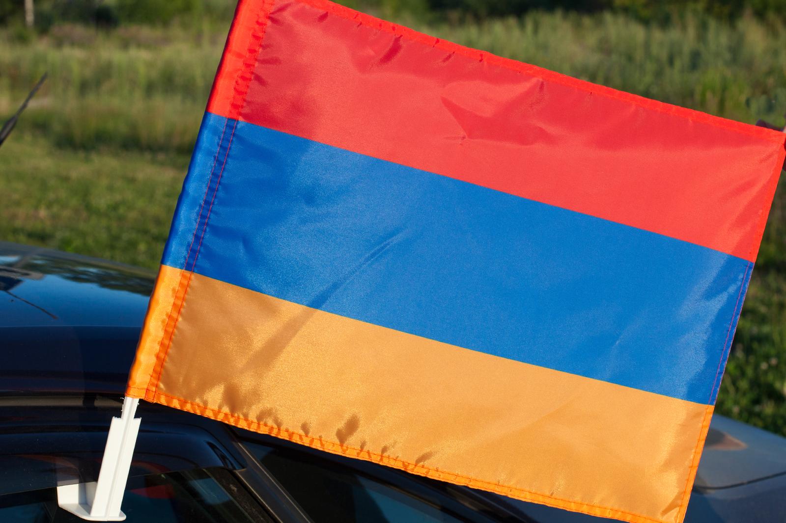 Флаг Армении на машину