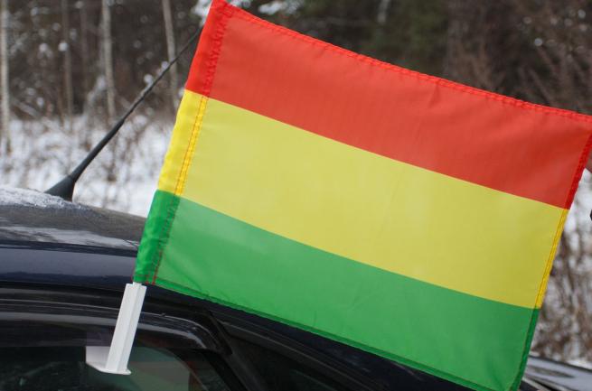 Флаг Боливии на машину