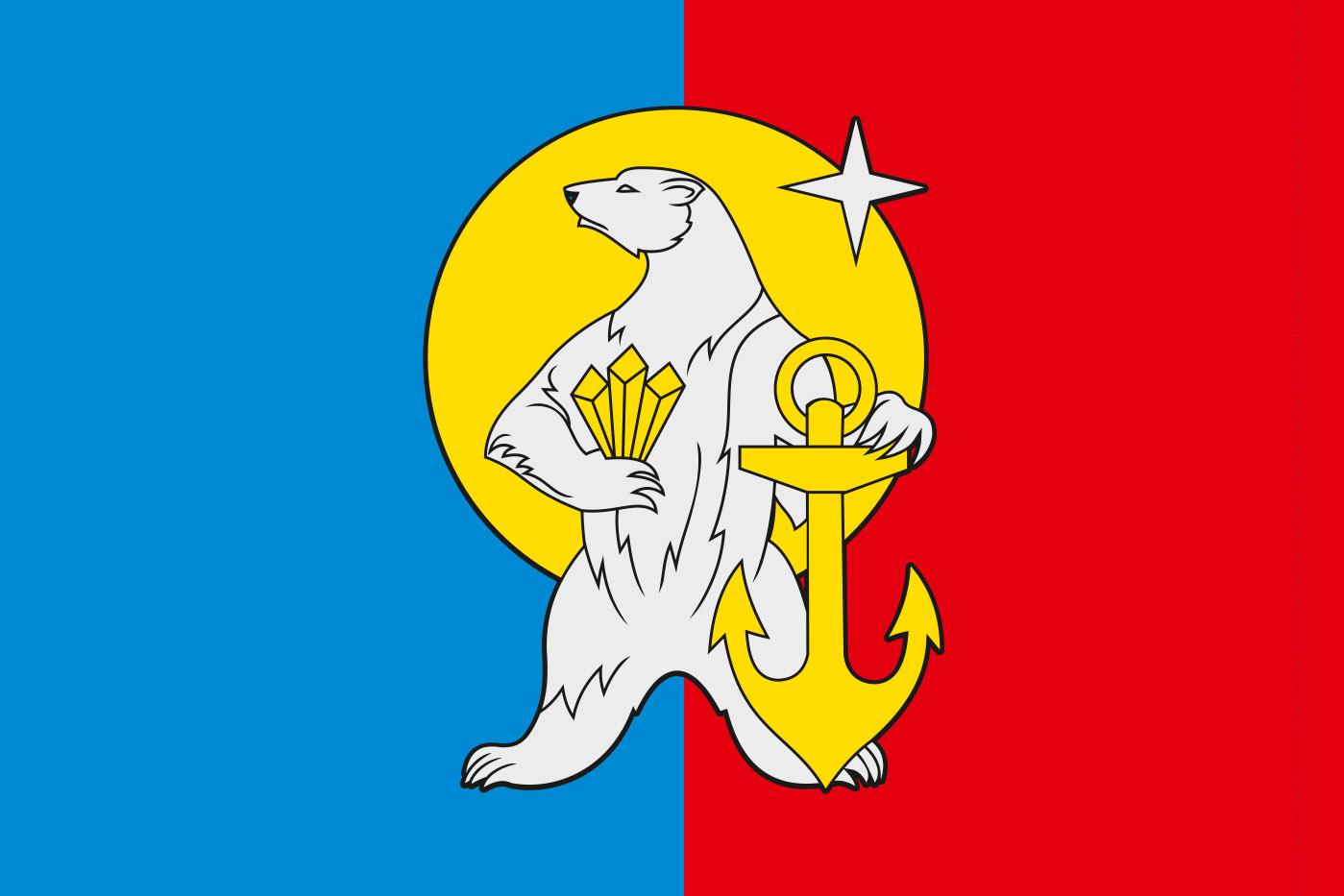 Флаг Чаунского района