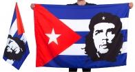 Флаг с портретом Че Гевары