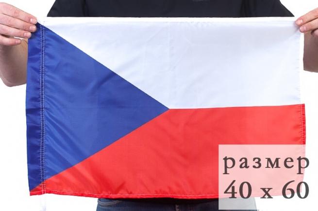 Флаг Чехии 40x60 см по акции